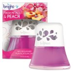Bright Air Scented Oil Diffuser, Fresh Petals & Peach, 2.5 oz (BRI900134)