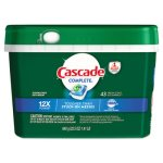 Cascade ActionPacs, Fresh Scent, 22.5 oz Tub, 43/Tub (PGC98208PK)
