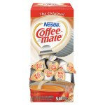 Coffee-mate Liquid Coffee Creamer, Original, 50 Mini Cups (NES35110BX)