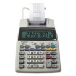 Sharp EL1750V LCD 2-Color Printing Calculator, 12-Digit LCD, Blk/Rd (SHREL1750V)