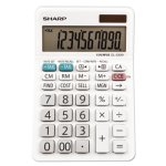 Sharp EL-330WB Desktop Calculator, 10-Digit LCD Display (SHREL330WB)