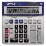 Victor 6700 Large Desktop Calculator, 16-Digit LCD, 1 Each (VCT6700)