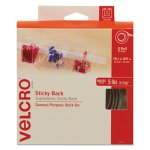 Velcro Sticky-Back Hook and Loop Fastener Tape with Dispenser (VEK90082)