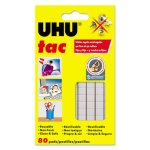 Uhu Tac Adhesive Putty, Removable/Reusable, Nontoxic, 2.12oz, 80 Pads (STD99683)