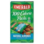 Emerald 100 Calorie Pack All Natural Almonds, .63 oz Packs, 7 Packs (DFD34325)