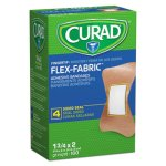 Curad Flex Fabric Bandages, Fingertip, 100/Box (MIINON25513)