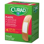 "Curad General Purpose Bandages, 3/4""x3"", 100/Box (MIINON25500)"