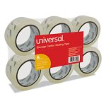 "Universal Carton Sealing Tape, 2"" x 55 yards, 3"" Core, Clear (UNV33100)"
