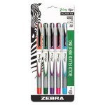 Zebra Z-Grip™ Flight Stick Ballpoint Pen, Assorted (ZEB21875)
