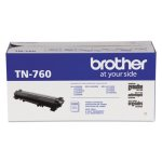 Brother TN760 High-Yield Toner Cartridge, 3000 Page-Yield, Black (BRTTN760)