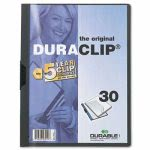 durable-vinyl-duraclip-report-cover-letter-holds-30-pages-cleargraphite-dbl220357