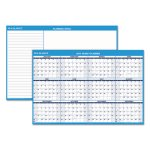 At-A-Glance Horizontal Erasable Wall Planner, Blue/White, 2020 (AAGPM30028)