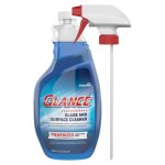 Diversey Glance Glass & Surface Cleaner, 32-oz. Bottle (DVOCBD540298EA)