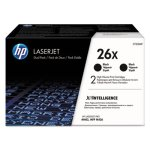 hp-26x-2-pack-high-yield-black-original-laserjet-toner-cartridges-hewcf226xd