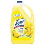 Lysol Clean & Fresh Multi-Surface Cleaner, 144 oz, Lemon, Each (RAC77617EA)