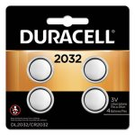 Duracell Lithium Medical Battery, 3V, 2032, 4/Pack (DURDL2032B4PK)