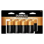 Duracell CopperTop® D-Batteries, 1.5 Volt, 8 Batteries (DRC MN13RT8Z)