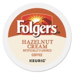 Folgers Hazelnut Cream Coffee K-Cups, 24/Box (GMT0162)