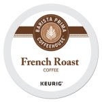 Barista Prima Coffeehouse French Roast K-Cups Coffee Pack, 24/Box (GMT6611)