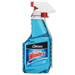 Windex Glass Cleaner with Ammonia-D, 32-oz.Trigger Spray Bottle (SJN695237EA)