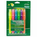 ticonderoga-emphasis-desk-style-highlighter-chisel-tip-6set-dix47076