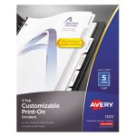 avery-print-on-dividers-5-tab-3-hole-punched-8-1-2-x-11-1-set-ave11511