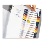 Avery Ready Index Contents Dividers, 15-Tab, Assorted, 15 per Set (AVE11820)