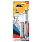 Bic 4-Color 3 + 1 Ballpoint Pen and Pencil, Assorted Ink, Medium (BICMMLP1AST)