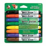 ticonderoga-white-system-dry-erase-marker-chisel-tip-assorted-colors-8set-dix92080