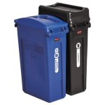rubbermaid-slim-jim-23-gallon-recycling-container-kit-black-blue-rcp1998896