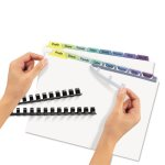 avery-index-maker-clear-label-color-dividers-8-tab-25-sets-per-pack-ave11999