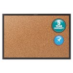 quartet-cork-bulletin-board-with-black-aluminum-frame-36-x-24-qrt2303b