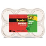 "Scotch Tough Grip Moving Packaging Tape, 1.88"" x 54.6 yds, 6 Rolls (MMM35006ESF)"