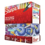 Sharpie Permanent Markers Ultimate Collection, Asstd, 72 Pcs, 1 Set (SAN1983254)