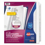 Avery Ready Index Customizable Table of Contents Dividers, 26-Tab, WE (AVE11166)