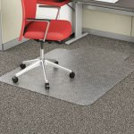 "Alera Studded Chair Mat for Flat Pile Carpet, 36"" x 48"", w/Lip (ALEMAT3648CFPL)"