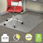 "Deflecto EconoMat, Lip, 36"" x 48"", Hard Floor, Clear (DEFCM11112COM)"