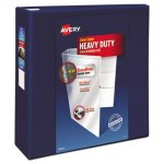 "Avery 4""Heavy-Duty EZD Reference View Binder, Navy Blue (AVE79804)"
