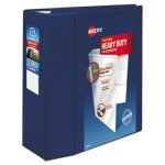 "Avery Nonstick Heavy-Duty EZD Reference View Binder, 5"" Capacity (AVE79806)"