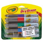crayola-dry-erase-marker-chisel-tip-assorted-colors-8-set-cyo988900