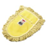 rubbermaid-u120-trapper-wedge-cotton-dust-mop-head-yellow-looped-end-rcpu120