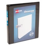 avery-showcase-reference-view-binder-1-capacity-black-ave19600