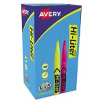 hi-liter-highlighter-pen-style-chisel-tip-20-yellow-4-pink-24-pk-ave29861
