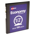 avery-economy-vinyl-round-ring-view-binder-1-2-capacity-black-ave05705