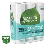 Seventh Generation 2-Ply Toilet Paper, 300/Roll, 24/Pack, 2 Packs (SEV13738CT)
