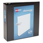 "Avery Showcase Reference View Binder, 3"" Capacity, Black (AVE19750)"