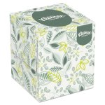 Kleenex 21272 Naturals 2-Ply White Facial Tissue, 95 Tissues (KCC21272)