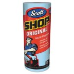 "Scott Shop Towels, 11"" x 10.4"", Auto Care, Blue, 12 Rolls (KCC75147)"