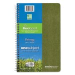 Environotes Sugarcane Notebook, 9 1/2 x 6, 80 Sheets, College Ruled (ROA13360)