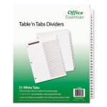 office-essentials-table-n-tabs-dividers-1-31-letter-white-1-set-ave11680